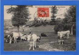 25 DOUBS - Pâturage Dans Les Montagnes Du Doubs (voir Descriptif) - Non Classés