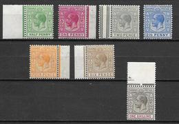 Bahamas 1912 Mi Nr. 35-41 MNH - Bahamas (...-1973)