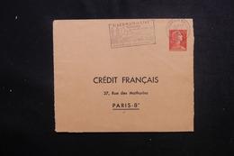 FRANCE - Entier Postal Type Muller 0.25ct De St Germain En Laye Pour Crédit Français à Paris En 1960 - L 50556 - Postal Stamped Stationery