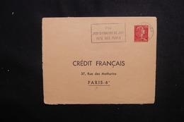 FRANCE - Entier Postal Type Muller 0.25ct De Lille Pour Crédit Français à Paris En 1962 - L 50557 - Postal Stamped Stationery