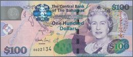 Bahamas: 100 Dollars 2009, P.76 In Perfect UNC Condition. - Bahamas