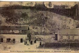 02 - LESQUIELLES-St-GERMAIN - Fours à Chaux - F.Legrand Propriétaire - Rare - Autres Communes