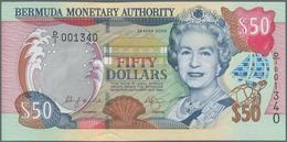 Bermuda: 50 Dollars 2000, P.54a In Perfect UNC Condition. - Bermudas