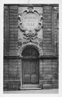 Tournai - La Porte Des Archives, Ancien Palais Des états Du Tournaisis 1735 - Tournai