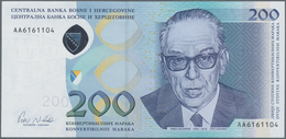 Bosnia & Herzegovina / Bosnien & Herzegovina: 200 Maraka 2002, P.71 In Perfect UNC Condition. - Bosnien-Herzegowina