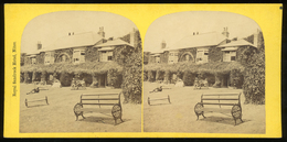 Stereoview - Royal Sanrock Hotel, Niton, ISLE OF WIGHT - Visionneuses Stéréoscopiques