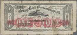 British North Borneo: The British North Borneo Company 1 Dollar 1925, P.15, Still A Great Note Even - Banknoten