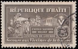 HAÏTI - Scott # RA6 United Nations Relief / Used Stamp - Haiti