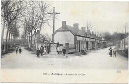 AUBIGNY: AVENUE DE LA GARE - Aubigny Sur Nere