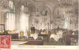 ENGHIEN-LES-BAINS (95) Salle De Restaurant Du Casino En 1918 - Enghien Les Bains