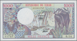 Chad / Tschad: 1000 Francs 1980, P.7 In Perfect UNC Condition. - Tschad