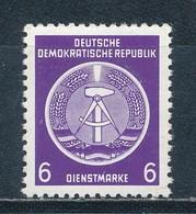 DDR Dienstmarken A 2 X XII ** Geprüft Schönherr Mi. 10,- - DDR