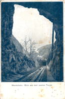 Mendelbahn: Blick Aus Dem Zweiten Tunnel * 18. 5. 1904 - Non Classificati