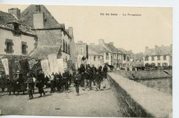 1644. CPA 29 ILE DE SEIN. LA PROCESSION - Ile De Sein