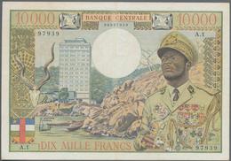 Equatorial African States: Banque Centrale - États De L'Afrique Équatoriale 10.000 Francs ND(1968) W - Banknoten