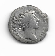 Denier De Marc Aurèle César Revers Honos - 3. La Dinastia Antonina (96 / 192)