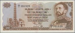 Ethiopia / Äthiopien: State Bank Of Ethiopia 20 Dollars ND(1961), P.21a In Perfect UNC Condition. Ra - Aethiopien