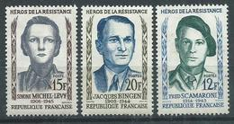 Timbre France Neuf * Yvt N° 1158-1160 - France