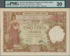French Somaliland / Französisch Somaliland: Banque De L'Indo-Chine – French Somaliland / Djibouti 50 - Banknoten