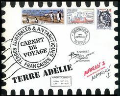 T.A.A.F. - CARNET DE VOYAGE - N° C308  DE 2001 AVEC N° 308 À 321 * * - LUXE - Boekjes