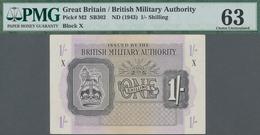 Great Britain / Großbritannien: British Military Authority 1 Shilling ND(1943), P.M2, Block X, Used - [ 1] Grossbritannien