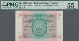 Great Britain / Großbritannien: British Military Authority 2 Shillings 6 Pence ND(1943), P.M3, Block - [ 1] Grossbritannien