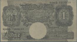 Great Britain / Großbritannien: Axis Propaganda Note 1 Pound With Arabian Text On Back, ND(1942), P. - [ 1] Grossbritannien