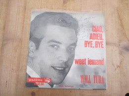 Will Tura Single Gesigneerd Mooi Staat - Disco, Pop