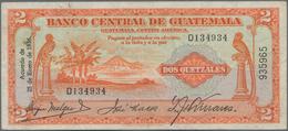 Guatemala: Banco Central De Guatemala 2 Quetzales 1936, Printed By Thomas De La Rue, P.18A, Highly R - Guatemala