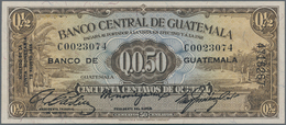 Guatemala: Banco Central De Guatemala 50 Centavos De Quetzal 1946, P.19a, Almost Perfect Condition W - Guatemala