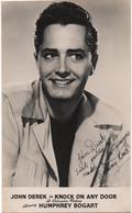 Acteur - John  DEREK    - Carte Photo    ( Columbia )    CPA - Schauspieler