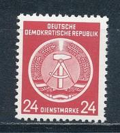 DDR Dienstmarken A 9 X XII ** Geprüft Schönherr Mi. 10,- - DDR