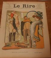 Le Rire. N° 393. 17 Mai 1902. Dessinateurs: Métivet, Benjamin Rabier, Lempereur, Moriss, Sancha, Goussé, Léandre.... - 1900 - 1949
