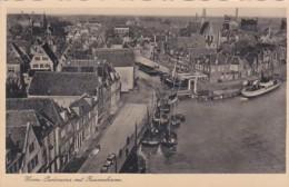 2603320Hoorn, Panorama Met Binnenhaven. – 1939 Afz. M. Mastenbroek 19e Dep. Bat. 1 Camp Mariaschool Hoorn. - Hoorn