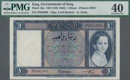 Iraq / Irak: Government Of Iraq 1 Dinar L.1931 (1942) With Signature: Lord Kennet And A. Amin, P.18a - Iraq