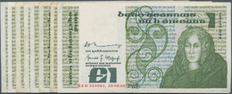 Ireland / Irland: Lot With 13 Banknotes 1967 – 1995 Including 3x 1 Pound Lady Lavery P.64 (F/F+), 8x - Irland