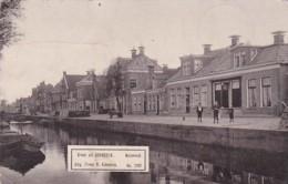 2603      372         Groet Uit Gorredijk, Molenwal. (poststempel 1905)(uitg. Firma R. Kiemstra. No. 11161) - Nederland