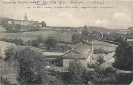 CPSM 69 Rhône La Ville L'Usine Bosland Tissage Mécanique Vue Générale - Francia