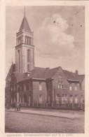 2603403Enschedé, Deurningerstraat Met R. K. Kerk. – 1930.(zie Hoeken) - Enschede