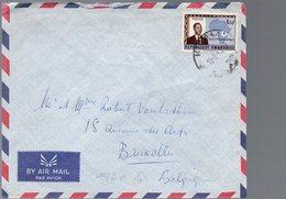 RWANDA - Cancellation KIGALI C - Lettre Cover 1963 - KX2 - Rwanda