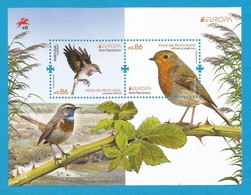 Portugal   2019 , EUROPA CEPT Birds - Aves Nacionals - Block - Postfrisch / MNH / (**) - 2019