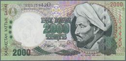 Kazakhstan / Kasachstan: 2000 Tenge 1996, P.17 In Perfect UNC Condition. - Kazakhstan