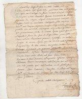 Loire Chuyer Ecotay  1777 - Manuscripts