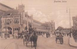 2603499Haarlem, Station. – 1913.(zie Hoeken) - Haarlem