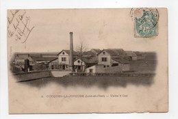 - CPA OUCQUES-LA-JOYEUSE (41) - Usine à Gaz 1903 - Edition Oudin N° 4 - - Francia