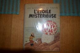 Tintin L'étoile Mystérieuse B1 Dos Bleu ! - Hergé