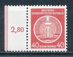 DDR Dienstmarken A 12 X XI ** Geprüft Weigelt Mi. 15,- - DDR