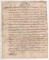 Loire Chuyer Ecotay  1729 - Manuscripts