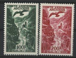 ANDORRE POSTE AERIENNE Cote 55 € N° 2 + 3. Neufs ** MNH. TB - Nuovi