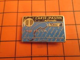 2519 PINS PIN'S / Beau Et Rare : Thème FRANCE TELECOM / CARTE PASTEL NATIONALE CARTE TELEPHONIQUE - Telecom De Francia